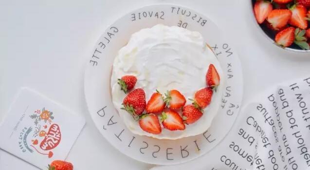 原味蛋糕图片