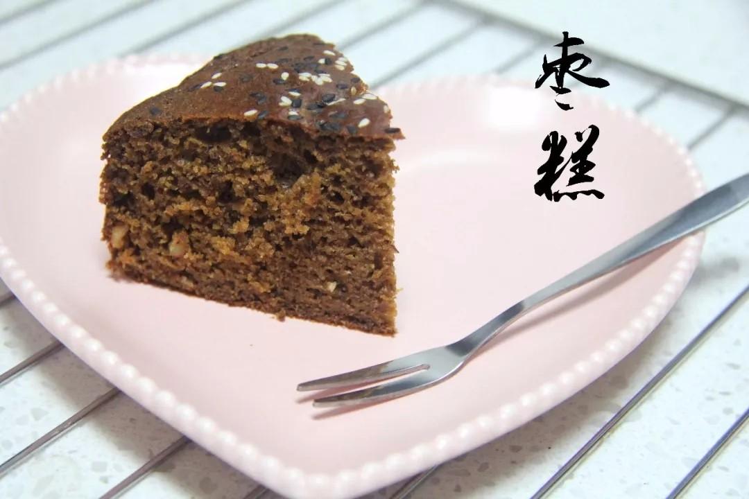 绵软香甜的枣糕做法照片