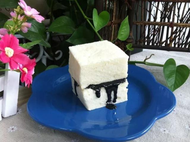 低脂豆腐蛋糕做法图七